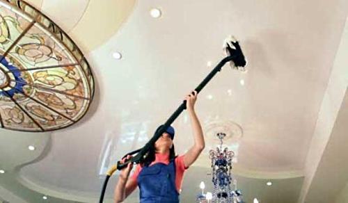 4-UHOD-1 Как ухаживать за подвесными потолками