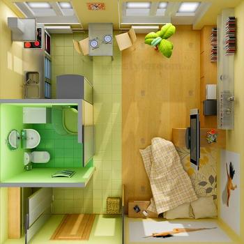 1-1 Ремонт в малогабаритной квартире