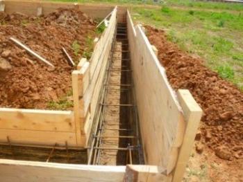 10-1 Фундамент для деревянного дома