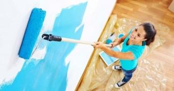 17-1 Учимся красить стены