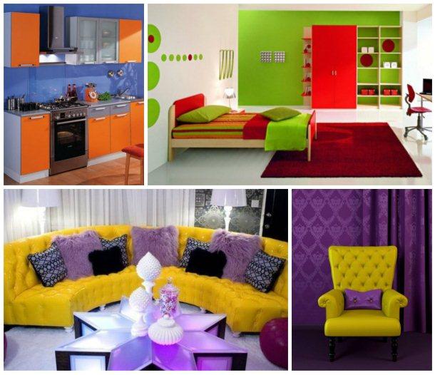 17-1-300x291 Сочетание цвета в интерьере