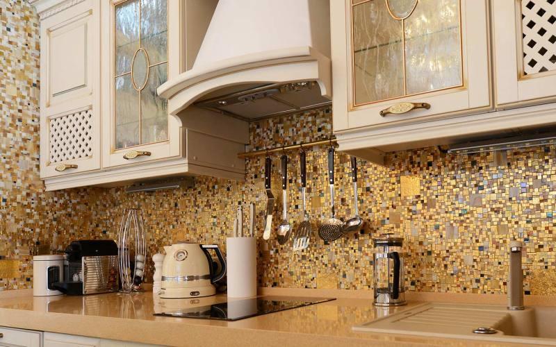 mozaika-dekor Декор под мозаику - модный вид отделки