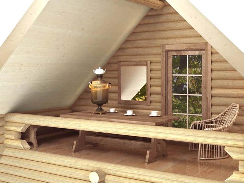 balkon-v-derevyannom-dome-e1495818448191 Как сделать балкон в деревянном доме