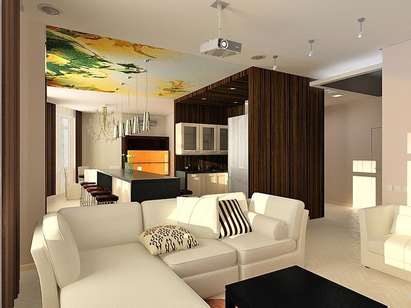 studia-e1501224073671 Гостиная и кухня вместе в доме. Правильное зонирование пространства.