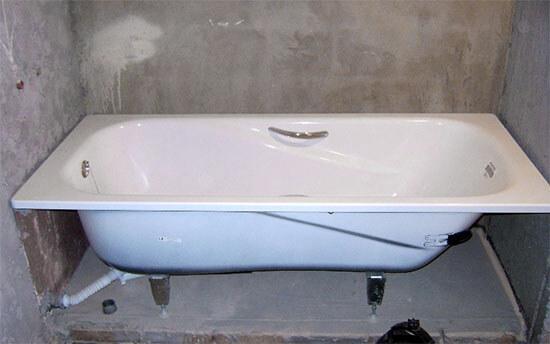 9-4 Советы по установке стальной ванны самостоятельно