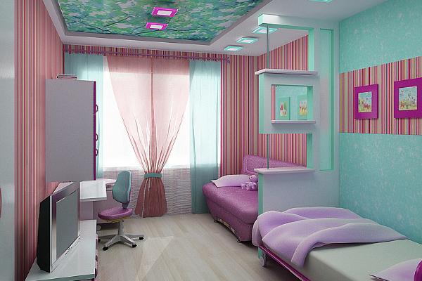 detskaya_komnata_dlya_dvoih_detey_2_0 Обустройство детской комнаты