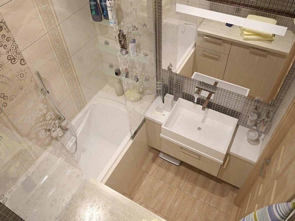orig Небольшие ванные комнаты