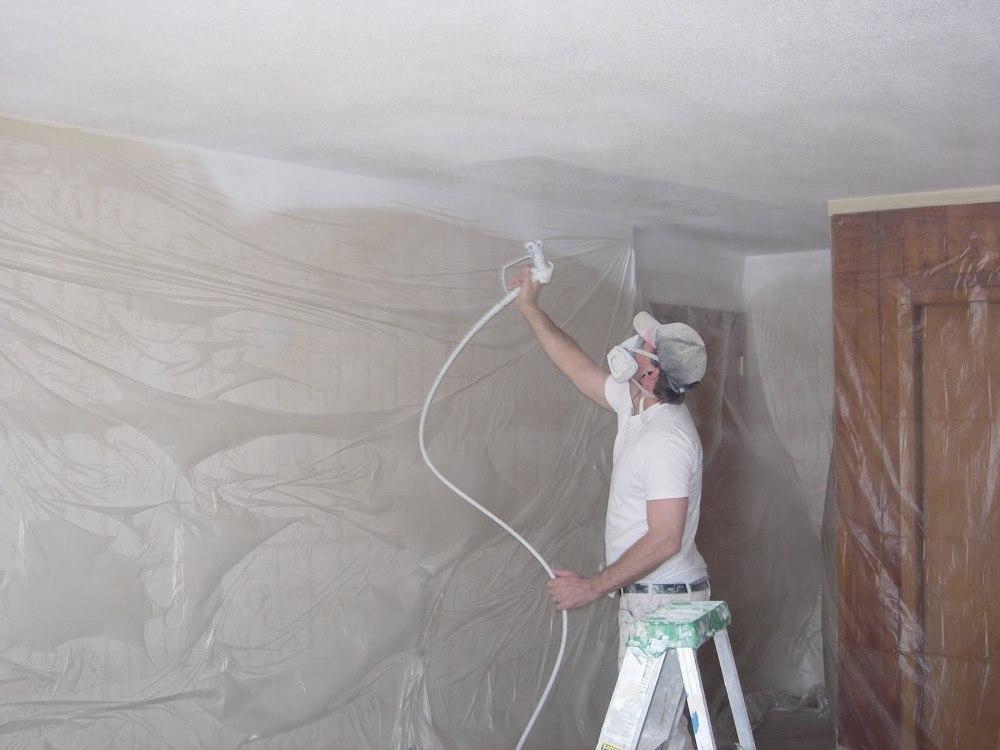 potolky-1 Как самостоятельно покрасить потолок в новостройке