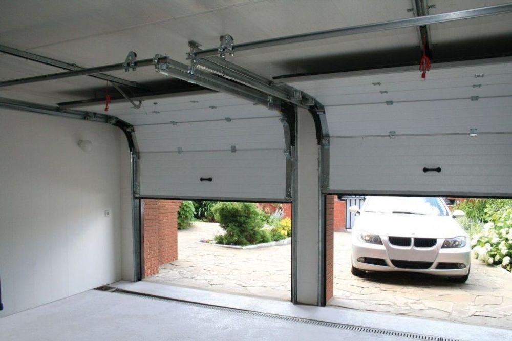 bas-1 Превосходство секционных гаражных ворот