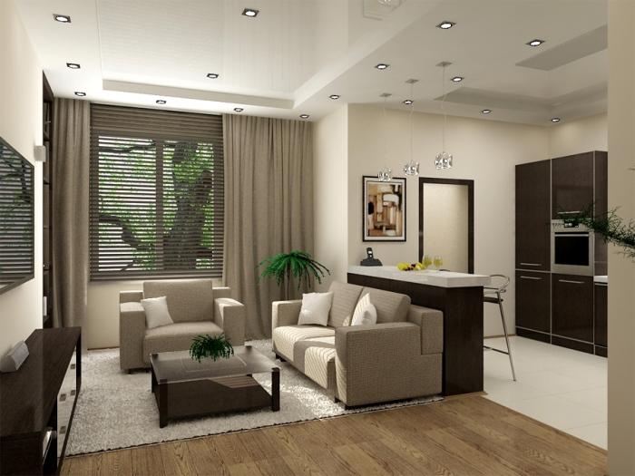 studiya-1 Как сделать маленькую комнату большой