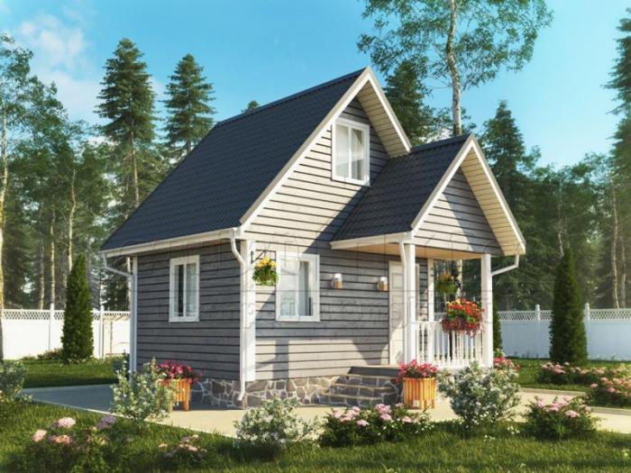 Преимущества одноэтажных каркасных домов