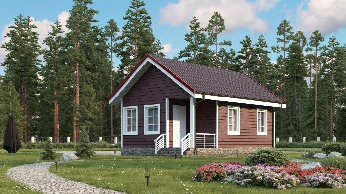 ada-2 Преимущества одноэтажных каркасных домов