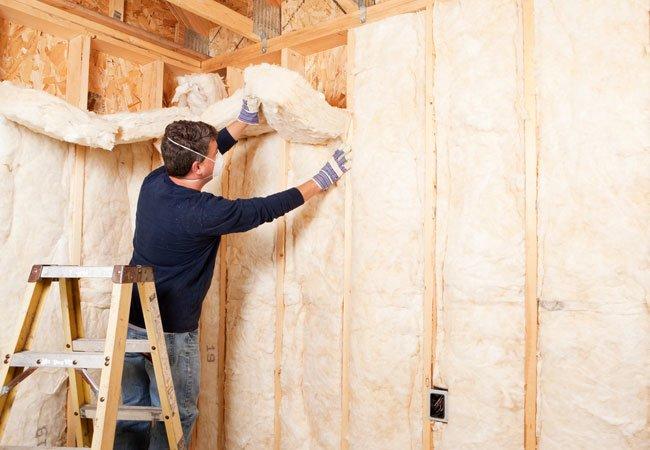 room-insulation Утепление каркасной бани минеральной ватой и пенопластом