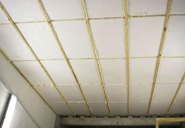 insulation Утепление потолка в бане минеральной ватой и стекловатой