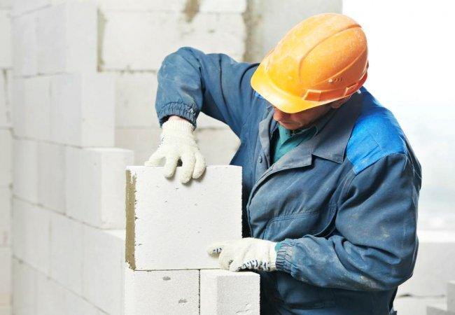malyarnie-raboti Стены из газобетона - процесс строительства и отделка