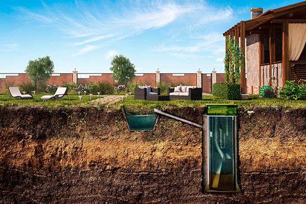 bioseptik Загородная канализация септик